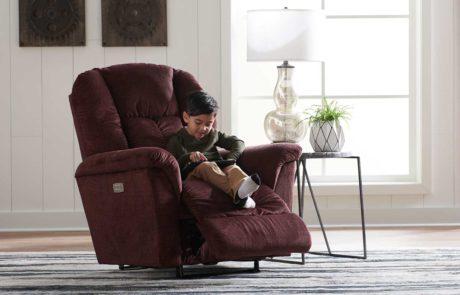 Chair Jasper recliner open