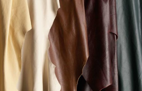 many shades of leather fabric