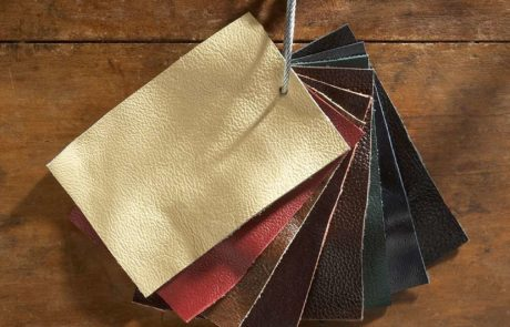 leather fabric swatches