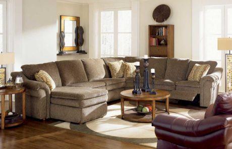 Sectional Devon recliner