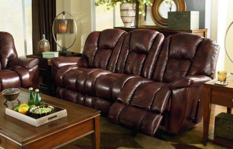 Sofa MAVERICK brown leather
