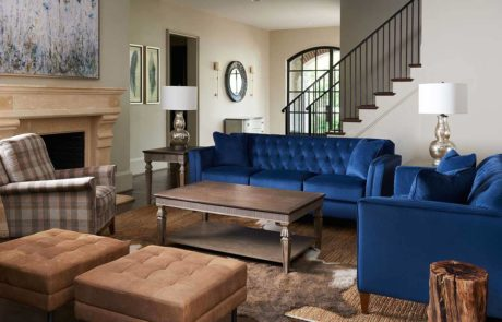Urban Attitudes blue couch