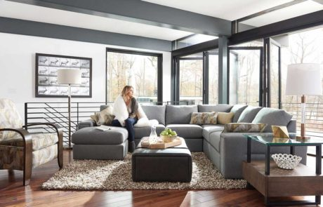 Urban Attitudes living room sectional